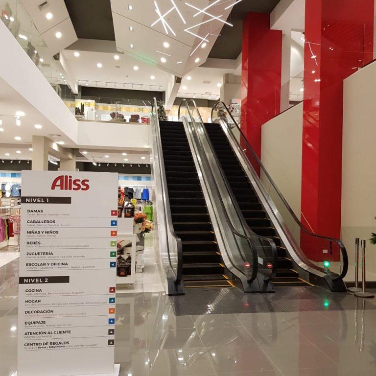 Escaleras mecánicas Aliss