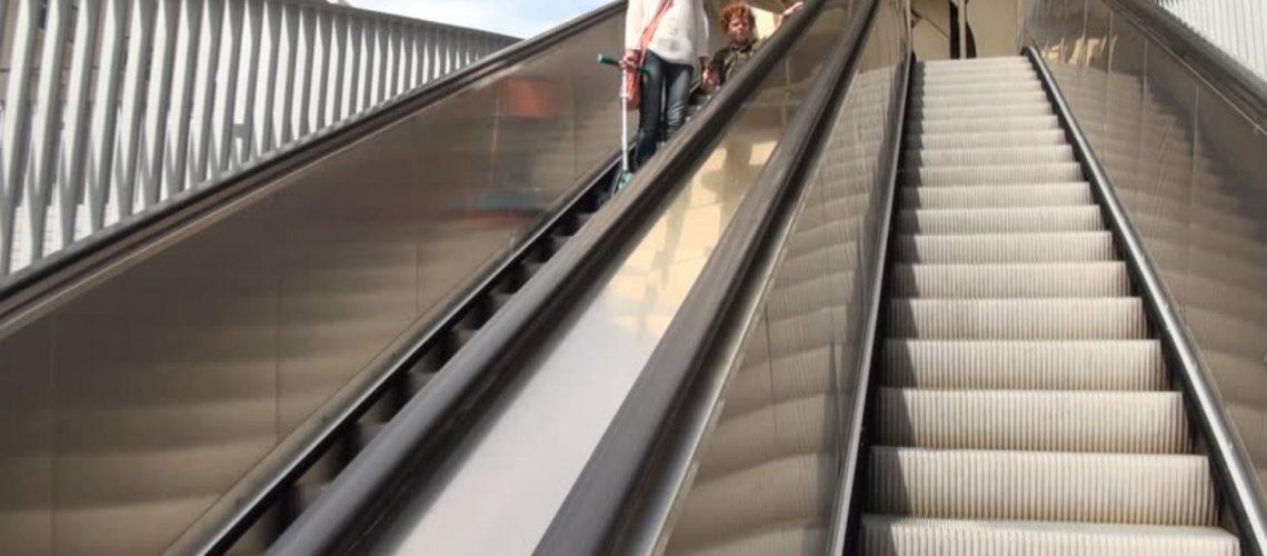 escaleras electricas